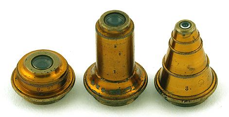 Kleines mikroskop museum optischer instrumente