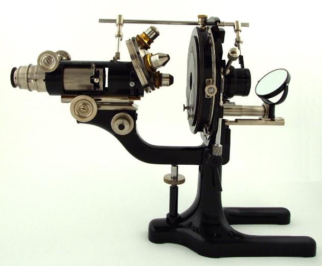 Mineralogisches mikroskop museum optischer instrumente